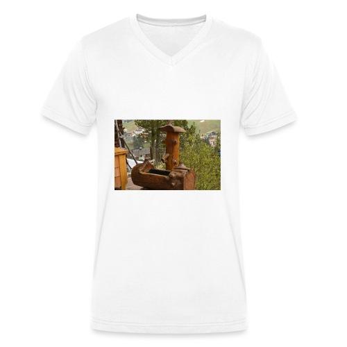 19.12.17 - Männer Bio-T-Shirt mit V-Ausschnitt von Stanley & Stella