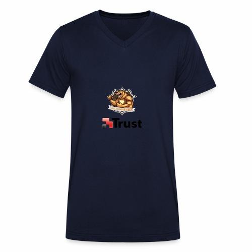 Prodotti Ufficiali con Sponsor della Crew! - T-shirt ecologica da uomo con scollo a V di Stanley & Stella