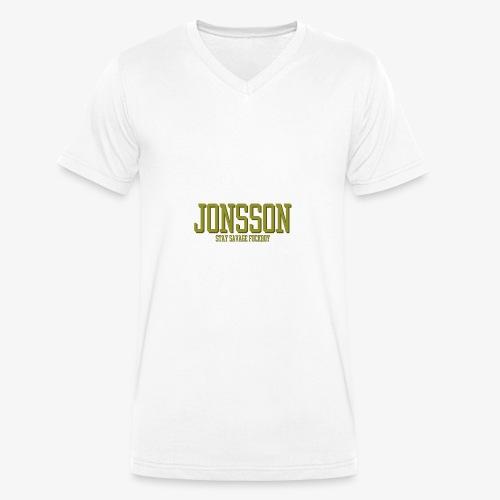stayfuckboy - Ekologisk T-shirt med V-ringning herr från Stanley & Stella