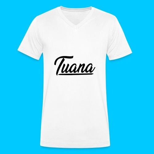 Tuana - Mannen bio T-shirt met V-hals van Stanley & Stella