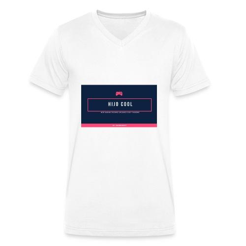 Logo 2 - Ekologisk T-shirt med V-ringning herr från Stanley & Stella