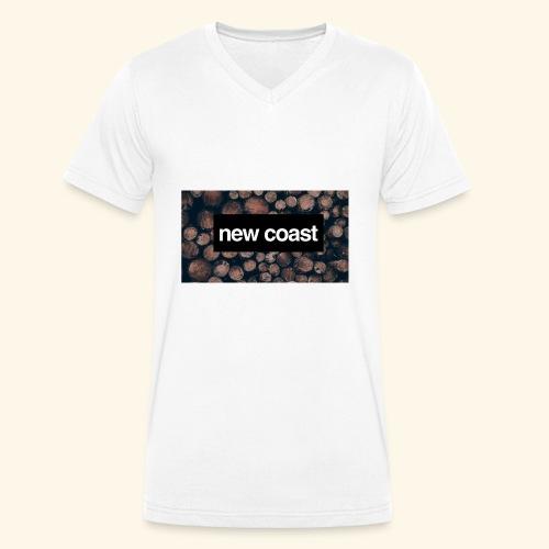 F70192D2 B556 4EB8 B903 225CA2E9B218 - Männer Bio-T-Shirt mit V-Ausschnitt von Stanley & Stella