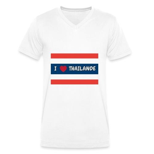 PhotoText 1522628401354 1 - T-shirt bio col V Stanley & Stella Homme