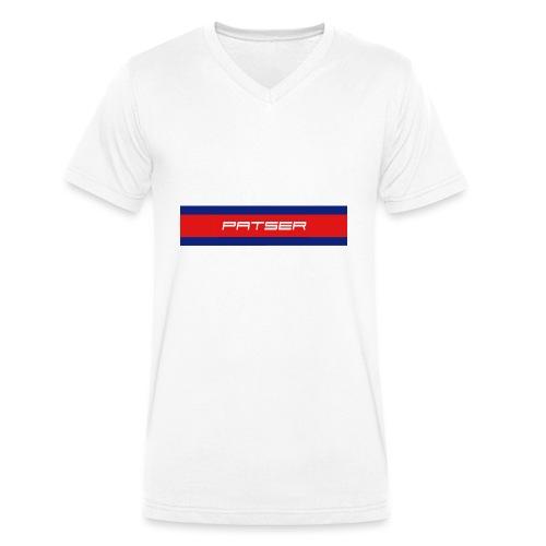 PATSER - Mannen bio T-shirt met V-hals van Stanley & Stella