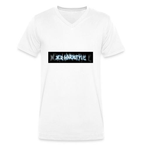 DerHardstyle ONE - Männer Bio-T-Shirt mit V-Ausschnitt von Stanley & Stella