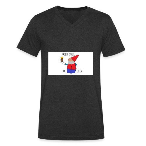 BIER KUT! - Mannen bio T-shirt met V-hals van Stanley & Stella