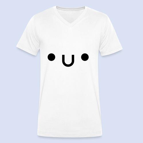 •u• - T-shirt bio col V Stanley & Stella Homme