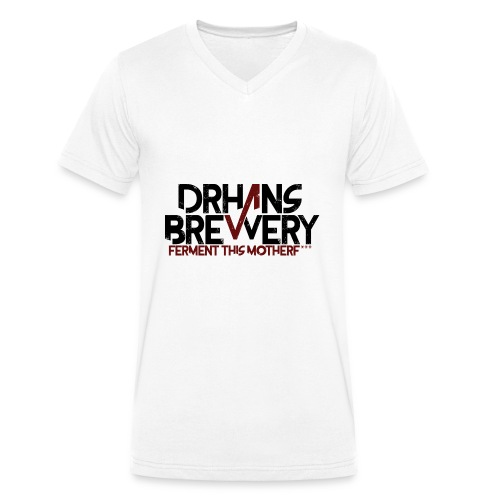 DrHans Brewery Logo - Ekologisk T-shirt med V-ringning herr från Stanley & Stella