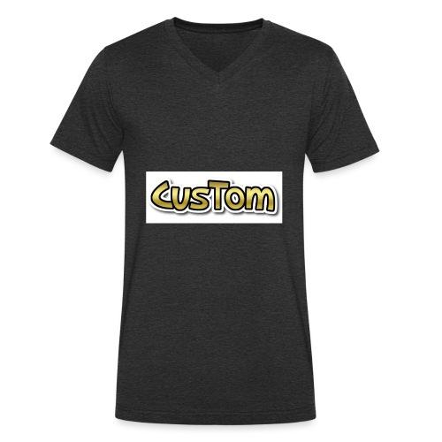 CusTom GOLD LIMETED EDITION - Mannen bio T-shirt met V-hals van Stanley & Stella