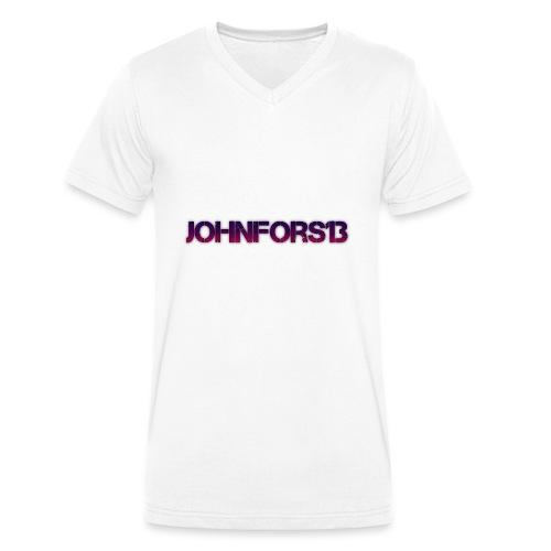JohnFors13 Logo - Ekologisk T-shirt med V-ringning herr från Stanley & Stella