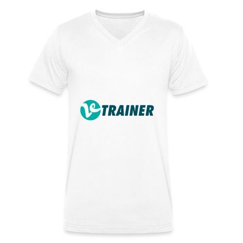 VTRAINER - Camiseta ecológica hombre con cuello de pico de Stanley & Stella