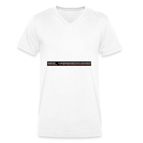 gielverberckmoes shirt - Mannen bio T-shirt met V-hals van Stanley & Stella