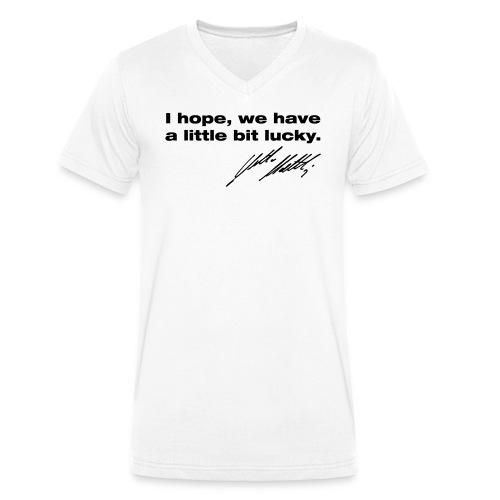 no name - Männer Bio-T-Shirt mit V-Ausschnitt von Stanley & Stella