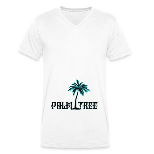 PALMTREE PALMERA STREETWEAR - Camiseta ecológica hombre con cuello de pico de Stanley & Stella