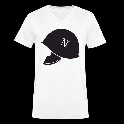LogoTesta HiRes - T-shirt ecologica da uomo con scollo a V di Stanley & Stella