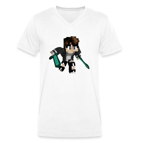 VirdSeater - Männer Bio-T-Shirt mit V-Ausschnitt von Stanley & Stella