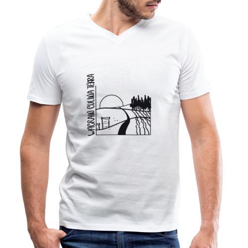 wacrain logo 20cm - Männer Bio-T-Shirt mit V-Ausschnitt von Stanley & Stella