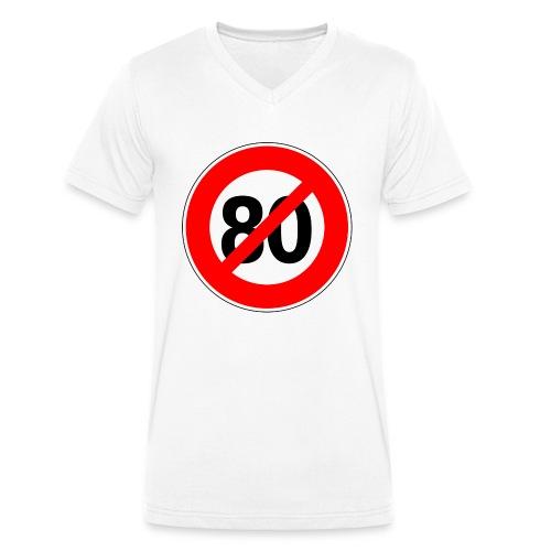 Non - 80km/h - T-shirt bio col V Stanley & Stella Homme