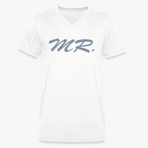 Mr. - Männer Bio-T-Shirt mit V-Ausschnitt von Stanley & Stella