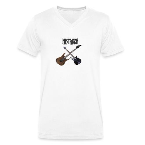 MISTAKEN bans - Men's Organic V-Neck T-Shirt by Stanley & Stella