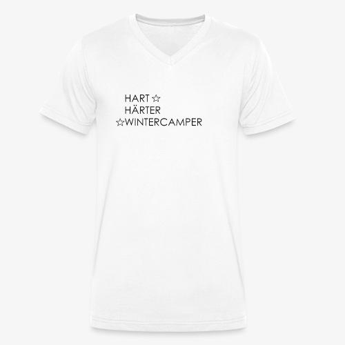 Wintercamper - Männer Bio-T-Shirt mit V-Ausschnitt von Stanley & Stella