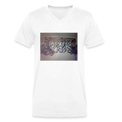 Værebro - Økologisk Stanley & Stella T-shirt med V-udskæring til herrer