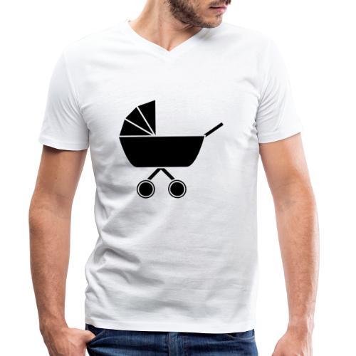 Kinderwagen - Männer Bio-T-Shirt mit V-Ausschnitt von Stanley & Stella