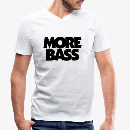 More Bass Bassist Bassisten - Männer Bio-T-Shirt mit V-Ausschnitt von Stanley & Stella