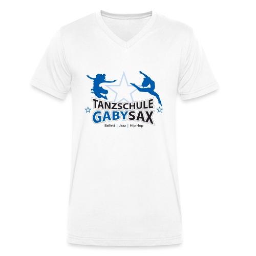 SAXARTS Collection - Männer Bio-T-Shirt mit V-Ausschnitt von Stanley & Stella