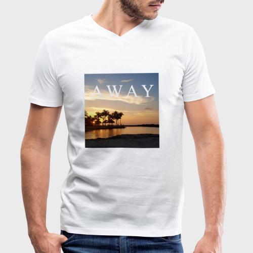 Away - Männer Bio-T-Shirt mit V-Ausschnitt von Stanley & Stella
