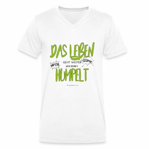 designbykiss (5) - Männer Bio-T-Shirt mit V-Ausschnitt von Stanley & Stella