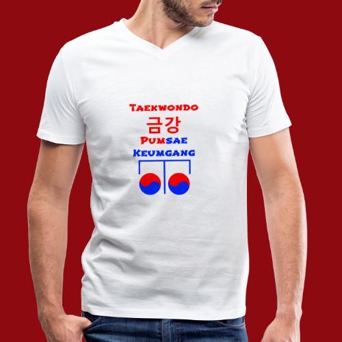 Keumgang - Pumsae Taekwondo - Poomse Kumgang Korea - Männer Bio-T-Shirt mit V-Ausschnitt von Stanley & Stella