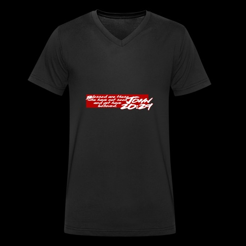 OVER REASON 2 - Camiseta ecológica hombre con cuello de pico de Stanley & Stella