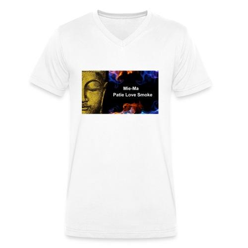 Mie ma Patie mode - Männer Bio-T-Shirt mit V-Ausschnitt von Stanley & Stella