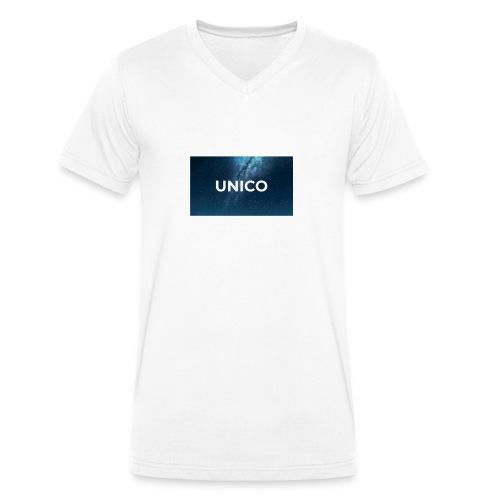 copertina canzone-unico - T-shirt ecologica da uomo con scollo a V di Stanley & Stella
