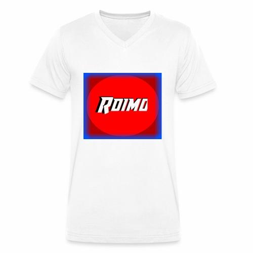 Loga 4 Extended Version - Ekologisk T-shirt med V-ringning herr från Stanley & Stella