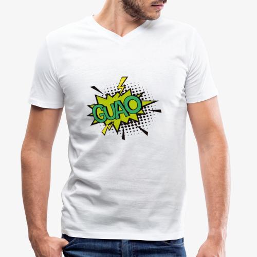 Serie de dibujos animados de los 80s - Camiseta ecológica hombre con cuello de pico de Stanley & Stella