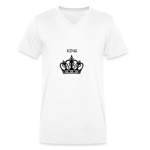 KING CROWN - T-shirt bio col V Stanley & Stella Homme