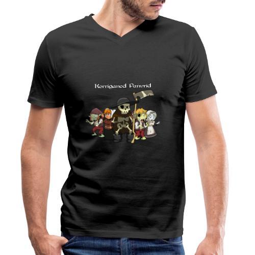 Kontadennoù ha mojennoù ar Marv - T-shirt bio col V Stanley & Stella Homme