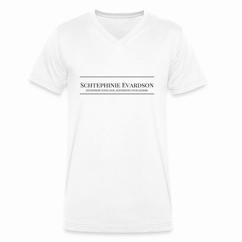Schtephinie Evardson Professional - Men's Organic V-Neck T-Shirt by Stanley & Stella