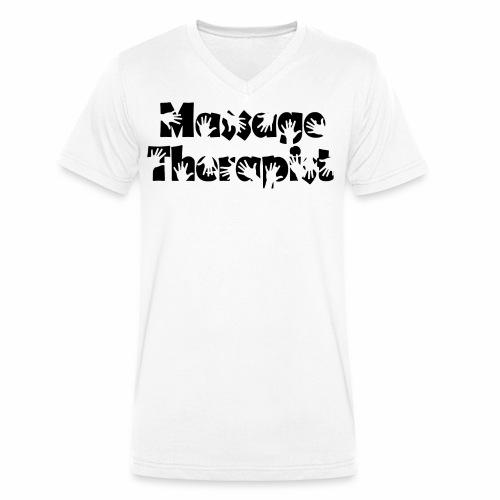 Massage Therapist - Männer Bio-T-Shirt mit V-Ausschnitt von Stanley & Stella