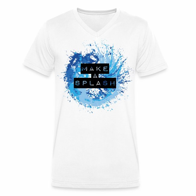 Make a Splash - Aquarell Design in Blau