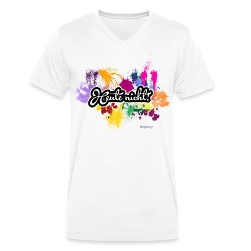 Heute nicht! - Männer Bio-T-Shirt mit V-Ausschnitt von Stanley & Stella