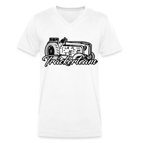 tt - Männer Bio-T-Shirt mit V-Ausschnitt von Stanley & Stella