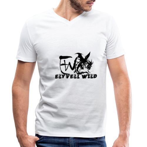 ELYVELL WILD - T-shirt bio col V Stanley & Stella Homme