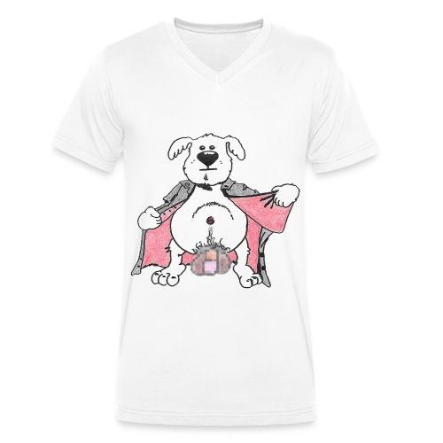 Exhibi Dog - T-shirt bio col V Stanley & Stella Homme
