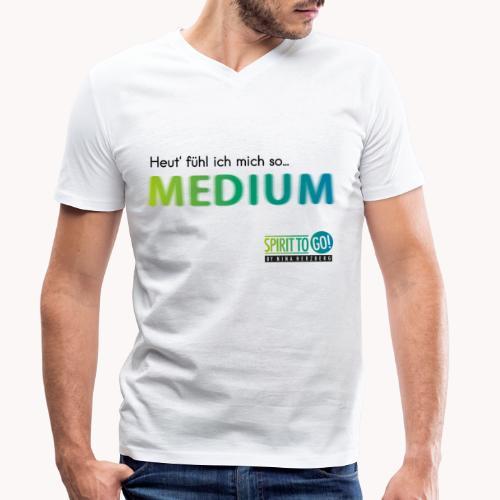Heut´fühl ich mich so.... MEDIUM - Männer Bio-T-Shirt mit V-Ausschnitt von Stanley & Stella