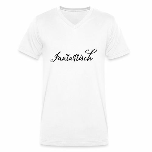 Jan Fantastisch - Männer Bio-T-Shirt mit V-Ausschnitt von Stanley & Stella