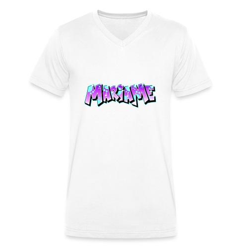 Graffiti Mariame printable - T-shirt bio col V Stanley & Stella Homme