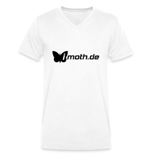imothlogo vector - Men's Organic V-Neck T-Shirt by Stanley & Stella